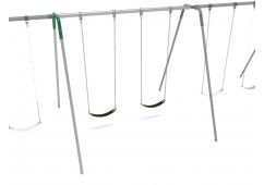 10 feet high Elite Tripod Swing - Add a Bay