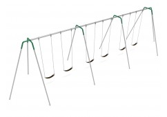 12 feet high Elite Tripod Swing - 3 Bays