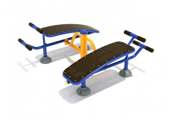 Double Station Sit Up Bench