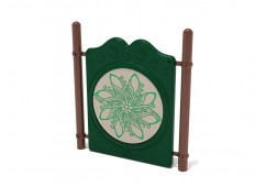 Freestanding Finger Maze Panel with Posts