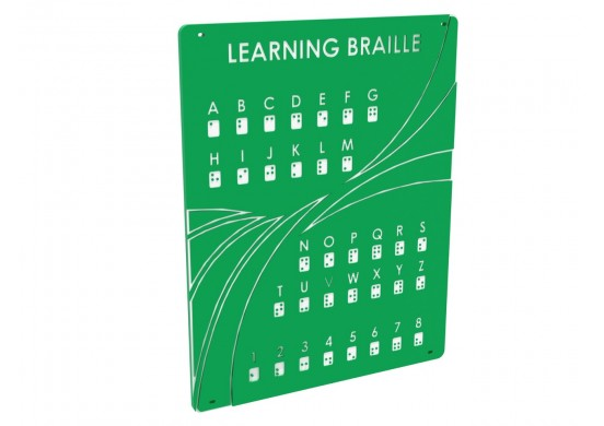 Spark Series Braille Panel