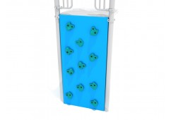 Spark Series Vertical PE Rock Climbing Wall