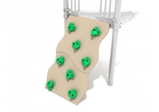 Spark Series Wavy PE Rock Climbing Wall