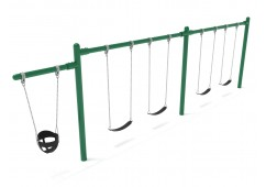 Elite Cantilever Swing - 2 Bay 1 Cantilever