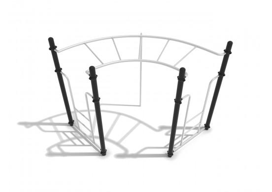 Curve Rung Horizontal Ladder