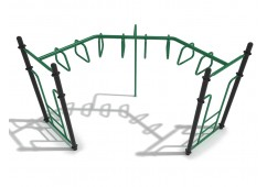90-Degree Trapezoid Loop Ladder
