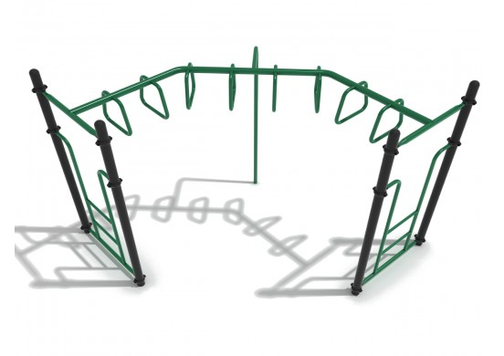 90-Degree Trapezoid Loop Ladder