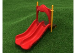 3-Foot Double Straight Embankment Slide