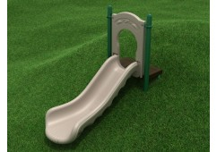 3-Foot Single Straight Embankment Slide