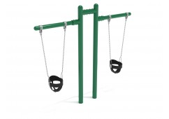 7/8 feet high Elite Early Childhood T Swing - 2 Cantilevers