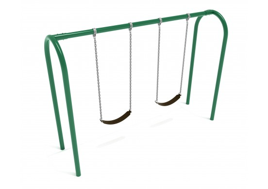 8 feet high Elite Arch Post Swing - 1 Bay