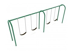 8 feet high Elite Arch Post Swing - 2 Bays
