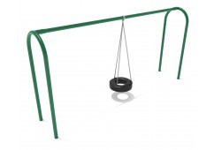 8 feet high Elite Arch Post Tire Swing