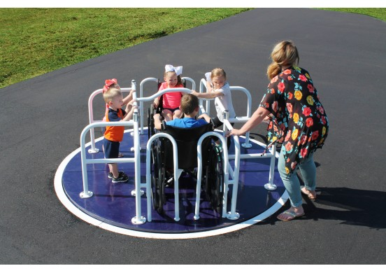 8-Foot Wheelchair Accessible Merry-Go-Round
