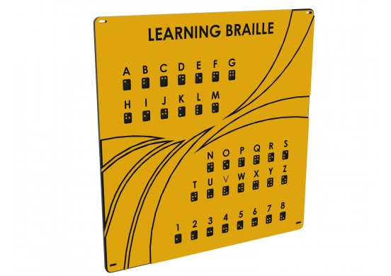 Maximum Series Braille Panel