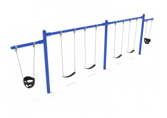 7/8 feet high Elite Cantilever Swing - 2 Bays 2 Cantilevers