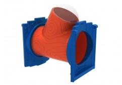 Deck to Deck Tree House Tube with Window