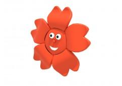 Flower Face Topper