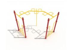 90-Degree Snake Loop Ladder
