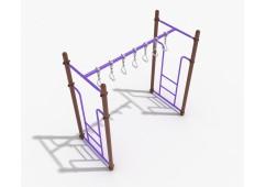 Straight Swinging Ring Ladder
