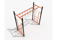 Double Straight Swinging Ring Ladder