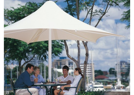 Hexagon Retractable Waterproof Umbrella