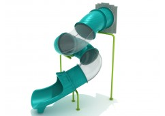 Tree House Spiral Tube Slide