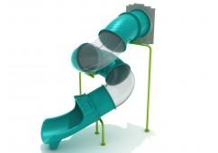 Tree House Spiral Tube Slide