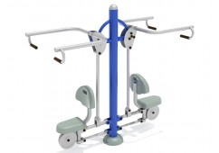 Double Station Lat Pulldown