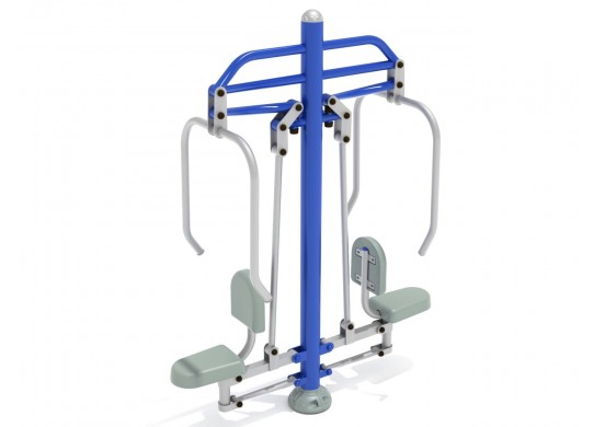 Double Station Chest Press