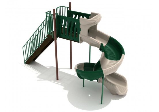 7 Foot Sectional Spiral Slide