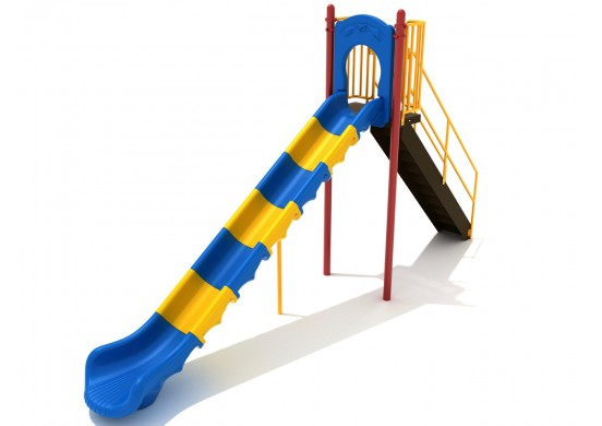 7 Foot Sectional Straight Slide