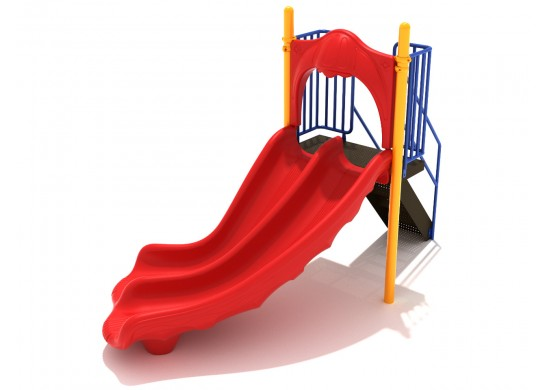 4 Foot Double Right Turn Slide