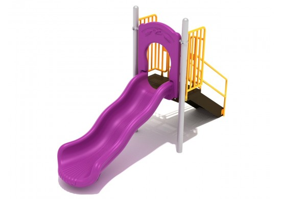 3 Foot Single Wave Slide