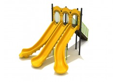 6 Foot Triple Sectional Split Slide