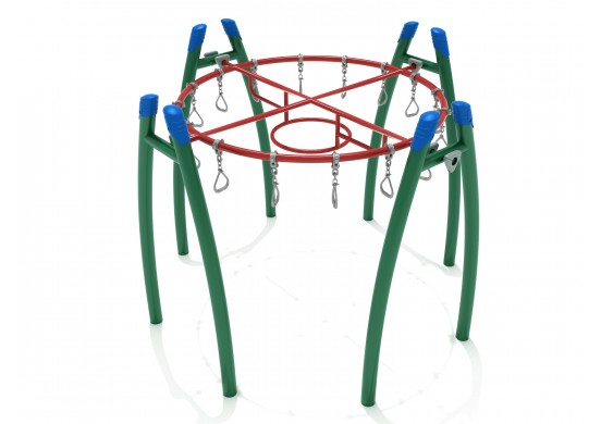 Get Physical Series Circle Overhead Swinging Ring Ladder