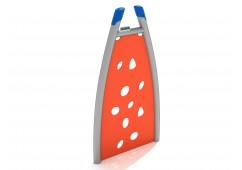 Curved PE Climbing Wall