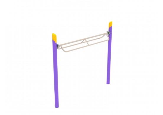 Get Physical Series Rocker Bar Overhead Climber