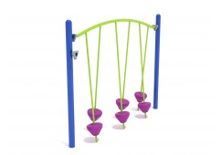 Get Physical Series Tilted Pebble Bridge