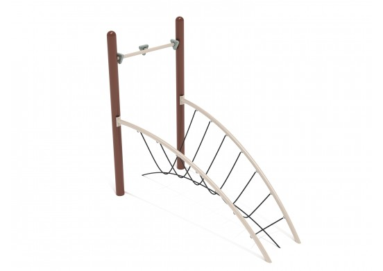 Get Physical Series Arch Rope Bridge