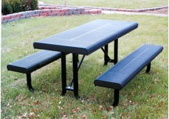 Innovated Rolled Portable Frame Rectangle Picnic Table