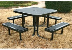 Innovated Portable Frame Octagon Picnic Table