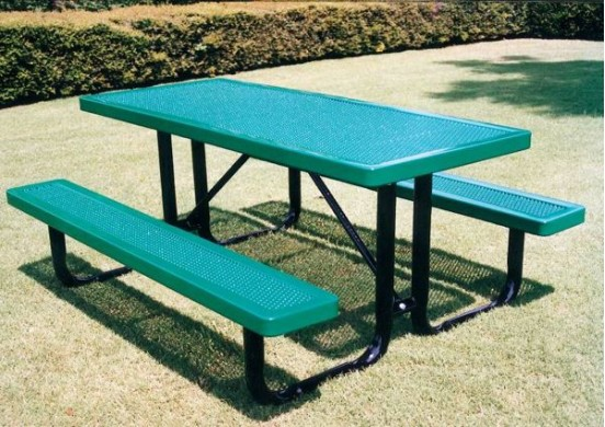 Innovated Portable Frame Rectangle Picnic Table