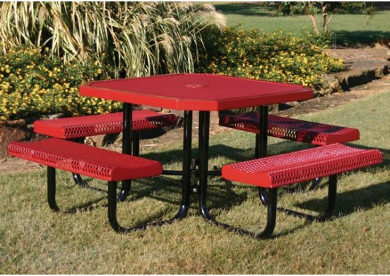 Rolled Portable Frame Octagon Picnic Table