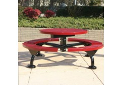 Web Expanded Web Frame Circle Picnic Table