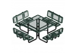 Backrest Square Picnic Table