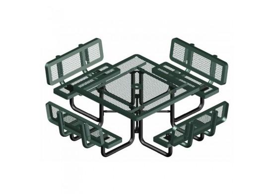 Backrest Square Picnic Table