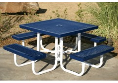 Regal Portable Frame Square Picnic Table