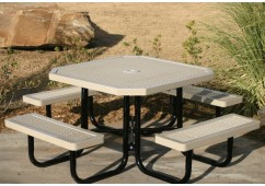 Regal Portable Frame Octagon Picnic Table