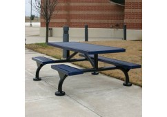 Web Expanded Web Frame Rectangle Picnic Table